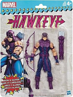 MARVEL LEGENDS VINTAGE SERIES 2 HAWKEYE 15 CM ACTION FIGURE | 5010993577071