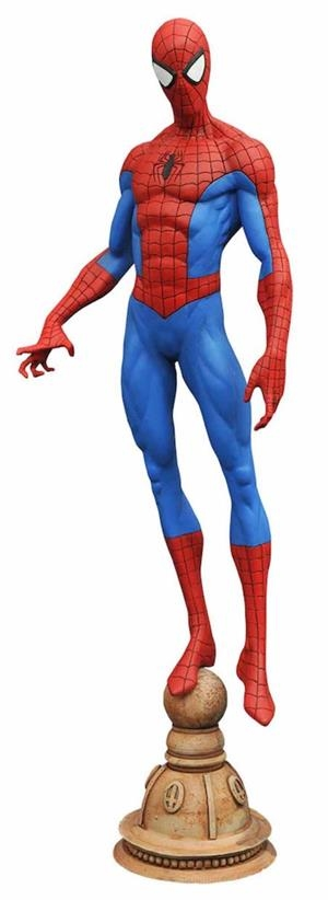 SPIDER-MAN FIGURA 23 CM MARVEL GALLERY DIAMOND SELECT TOYS | 699788182512 | Universal Cómics