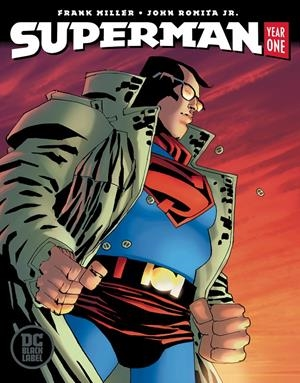 USA SUPERMAN YEAR ONE BOOK TWO MILLER COVER | 76194135392000221 | FRANK MILLER - JOHN ROMITA JR | Universal Cómics