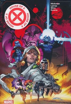 USA HOUSE OF X / POWER OF X HC | 978130291570456000 | JONATHAN HICKMAN - PEPE LARRAZ - R.B. SILVA - ADRIANO DI BENEDETTO  | Universal Cómics