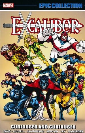 USA EPIC COLLECTION EXCALIBUR # 04 CURIOUSER AND CURIOUSER TP | 978130292276453999 | ALAN DAVIS - SCOTT LODBELL - WILL SIMPSON - JOE MADUREIRA | Universal Cómics