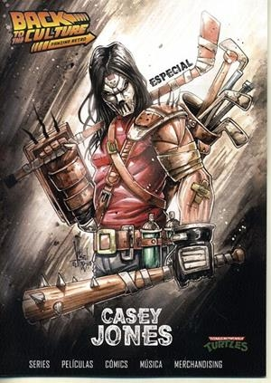 BACK TO THE CULTURE ESPECIAL CASEY JONES | 9999900048124 | DIEGO MATOS - ALBERTO VICENTE | Universal Cómics