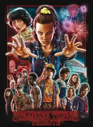 STRANGER THINGS. TRIBUTE | 9788417557171 | VARIOS AUTORES | Universal Cómics