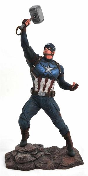 CAPITAN AMERICA PVC DIORAMA MARVEL MOVIE GALLERY A | 0699788832929 | Universal Cómics